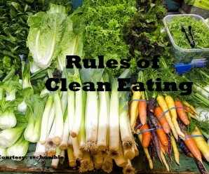 Rules of Clean Eating